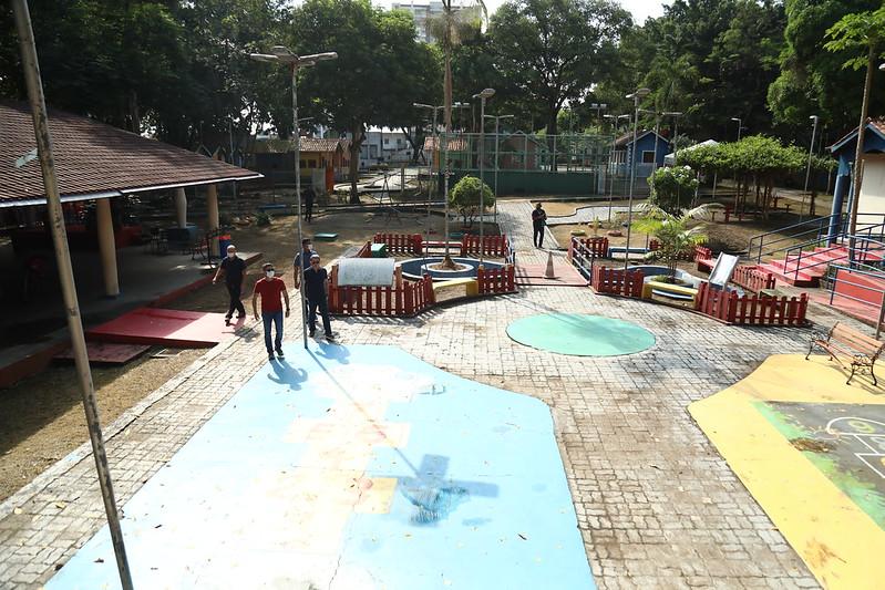 Prefeito David Almeida Parque Cidade da Criança