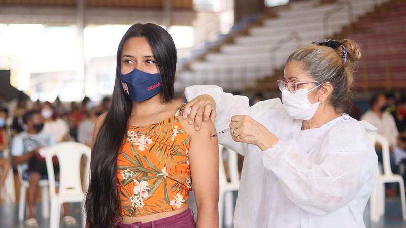 Manaus SEMSA vacinação Covid-19