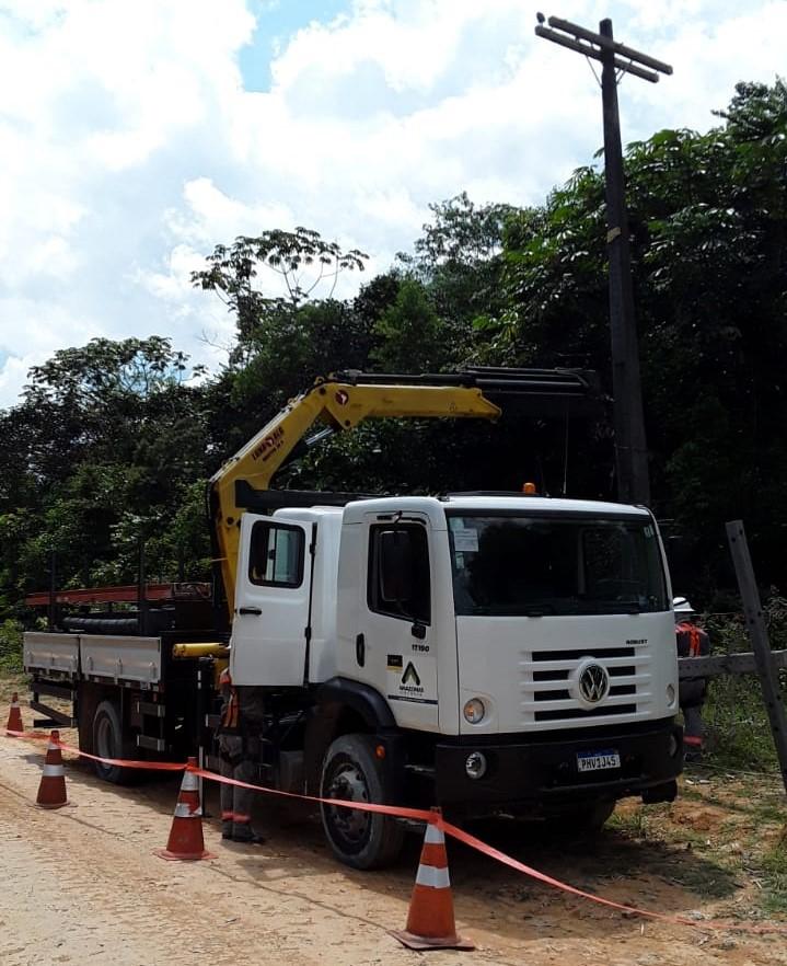Rodovia AM-010 Amazonas Energia Amazonas