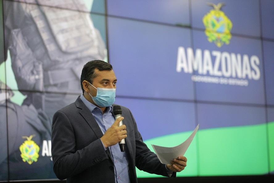 "Programa ""Amazonas Mais Seguro"" Wilson Lima SSP-AM Governo do Amazonas"