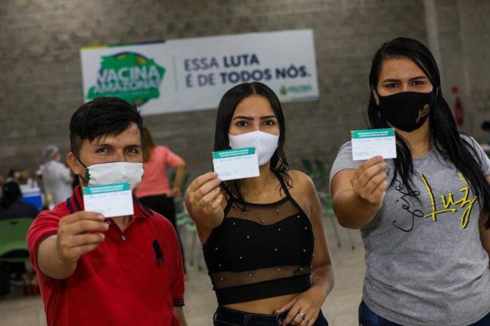 Vacina Amazonas Manaus Covid-19 Vacinação