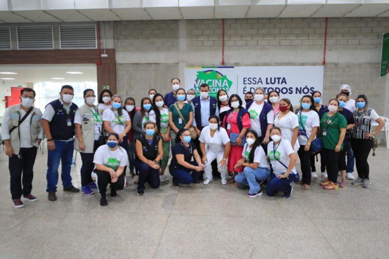 Wilson Lima 3º Mutirão Vacina Amazonas Manaus Vacinação Covid-19