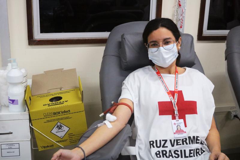 Hemoam Doação de sangue Covid-19