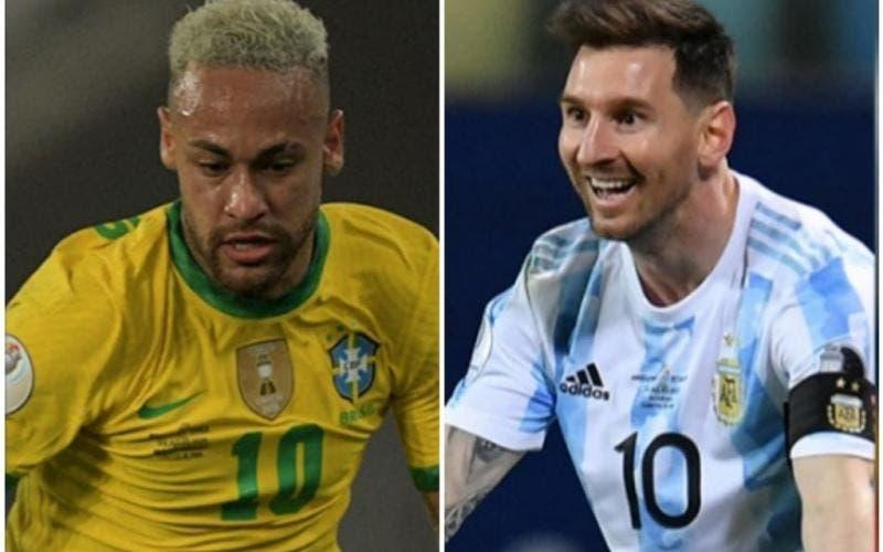 Brasil Argentina Copa América Maracanã