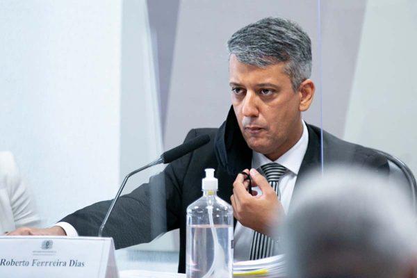 Roberto Dias CPI da covid