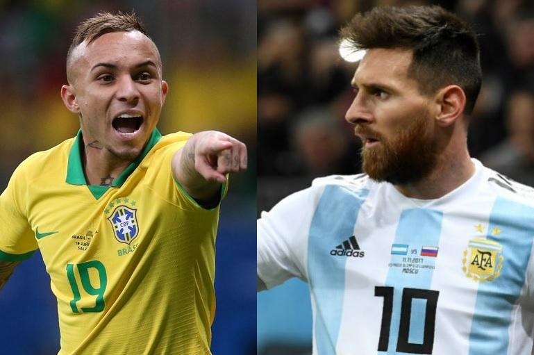 Copa América Brasil Argentina