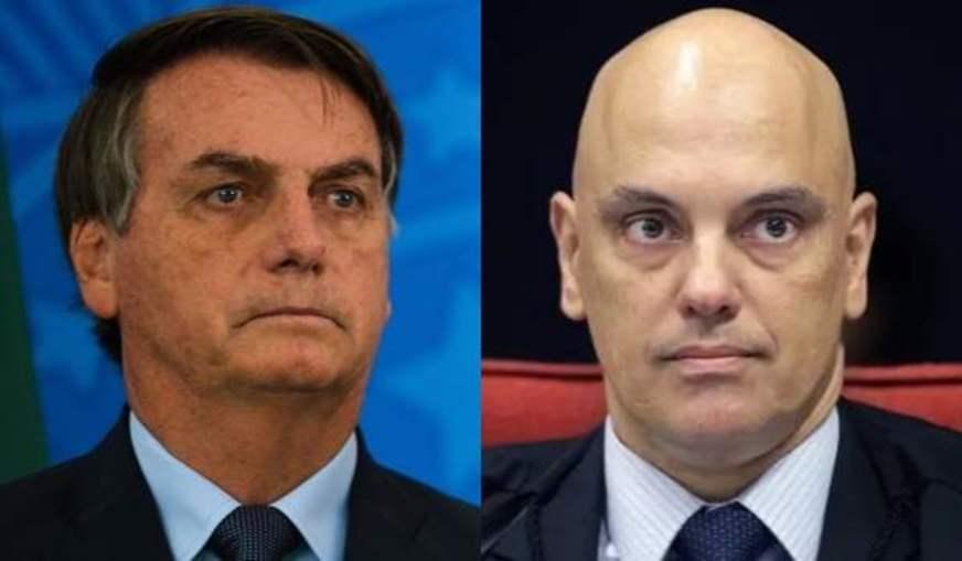 STF Alexandre de Moraes Bolsonaro Fake News