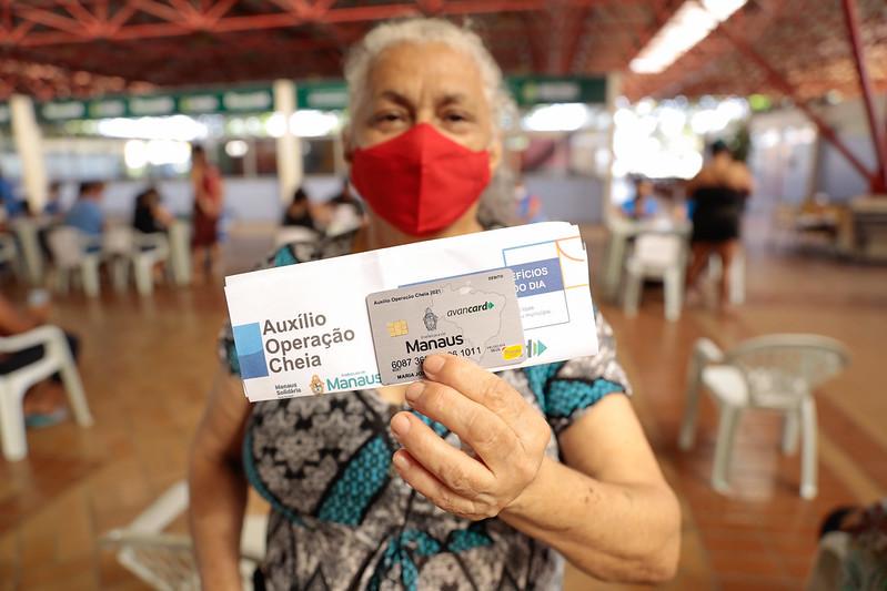Auxílio Operação Cheia Prefeitura de Manaus