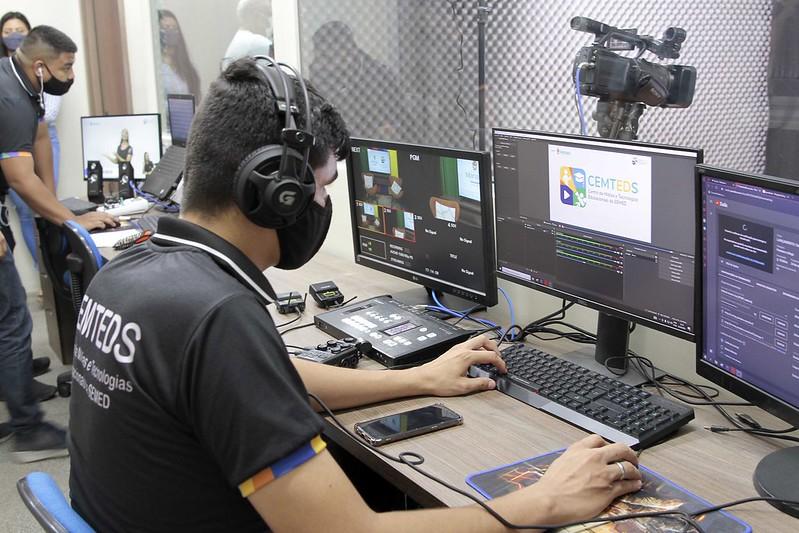 SEMED Centro de Mídias e Tecnologias Educacionais Cemteds Prefeitura de Manaus