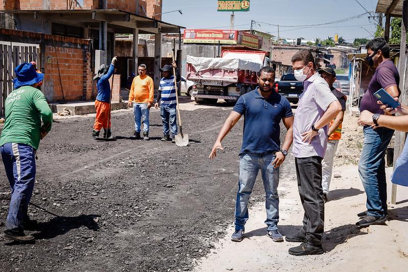 Marcos Rotta Infraestrutura Manaus bairro Santa Etelvina SEMINF Prefeitura de Manaus