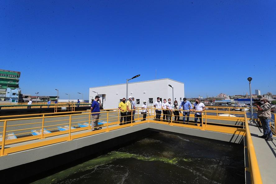 Wilson Lima Estação de Tratamento de Esgoto Governo do Amazonas