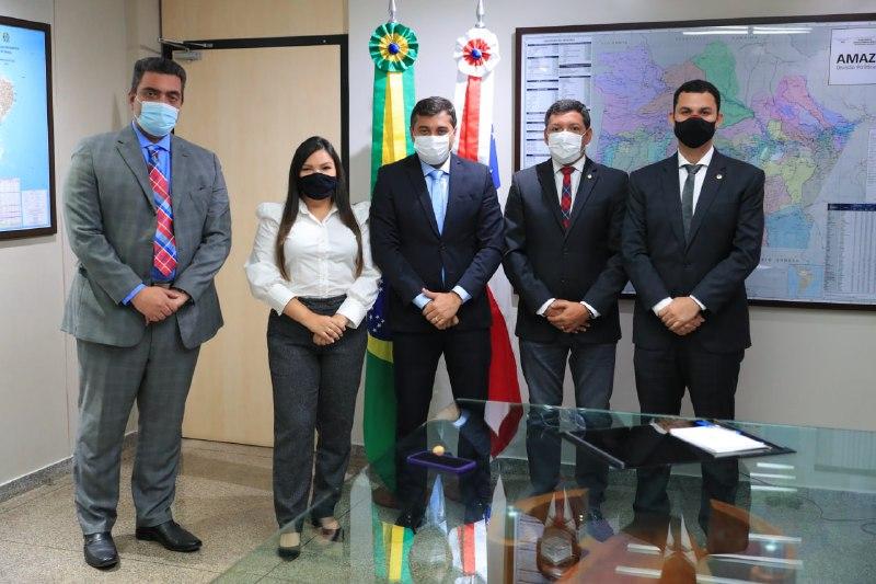 Wilson Lima Felipe Souza Governo do Amazonas Aleam