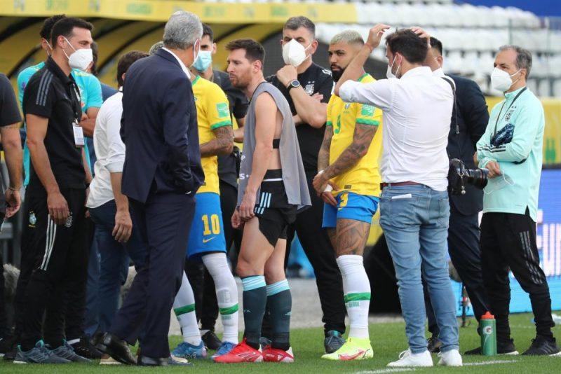 Copa do Mundo FIFA Brasil Argentina CPI da Covid