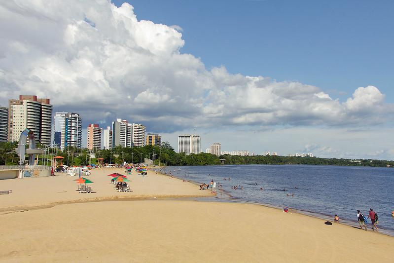 Praia da Ponta Negra Semana da Pátria Prefeito David Almeida