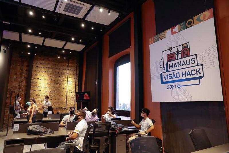 """""""Manaus Visão Hack Experience"""" Prefeitura de Manaus Semtepi"""