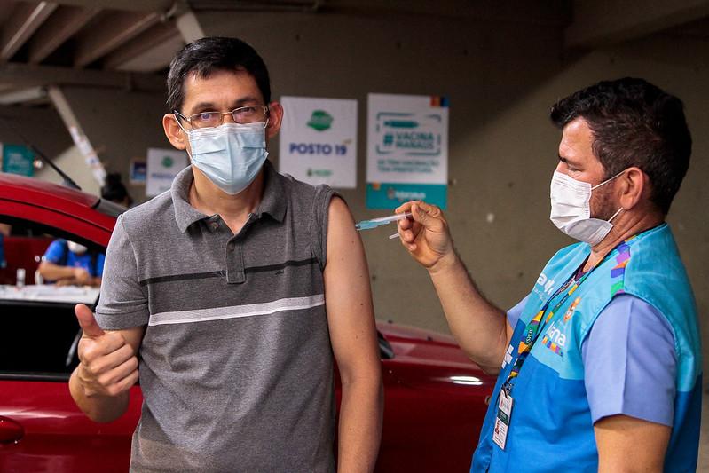 Manaus Vacinação Covid-19 SEMSA