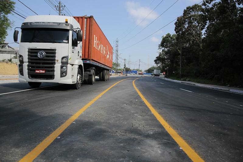 Prefeitura de Manaus David Almeida SUFRAMA Obras do Distrito Industrial SEMINF