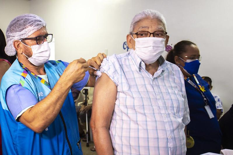 Vacinação Covid-19 Manaus Terceira Dose