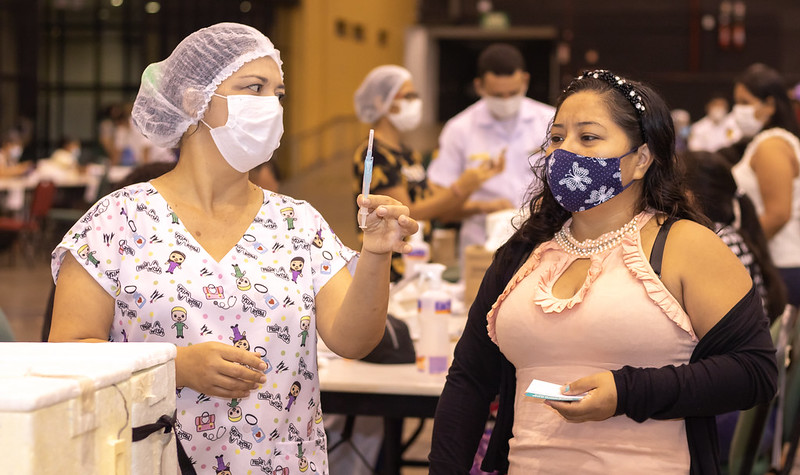 Vacinação SEMSA Covid-19 Manaus ConecteSUS
