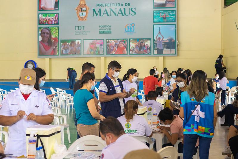Covid-19 Vacinação Manaus SEMSA