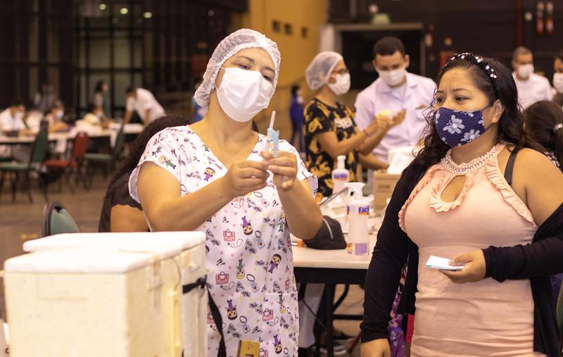 Vacinação Covid-19 Manaus SEMSA