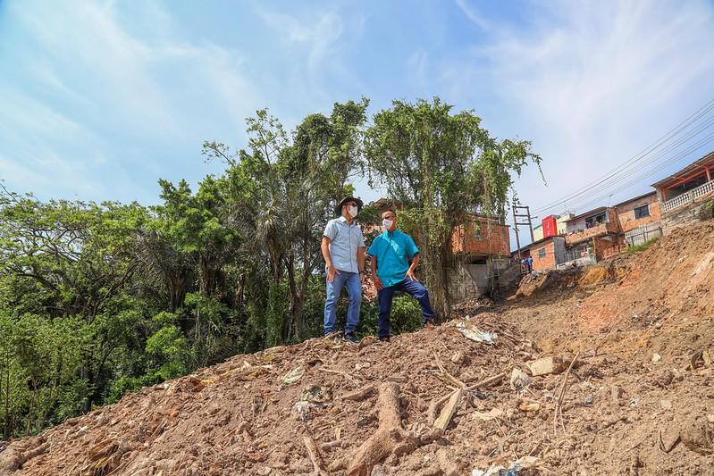 Prefeitura de Manaus David Almeida Erosão Mauazinho