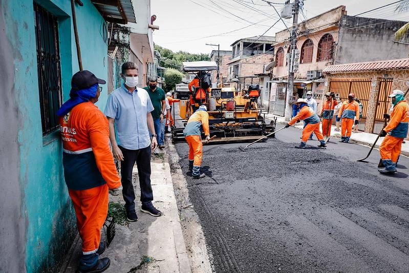 SEMINF Pacote 'Obras de Verão' Zona Sul Prefeitura de Manaus Marcos Rotta