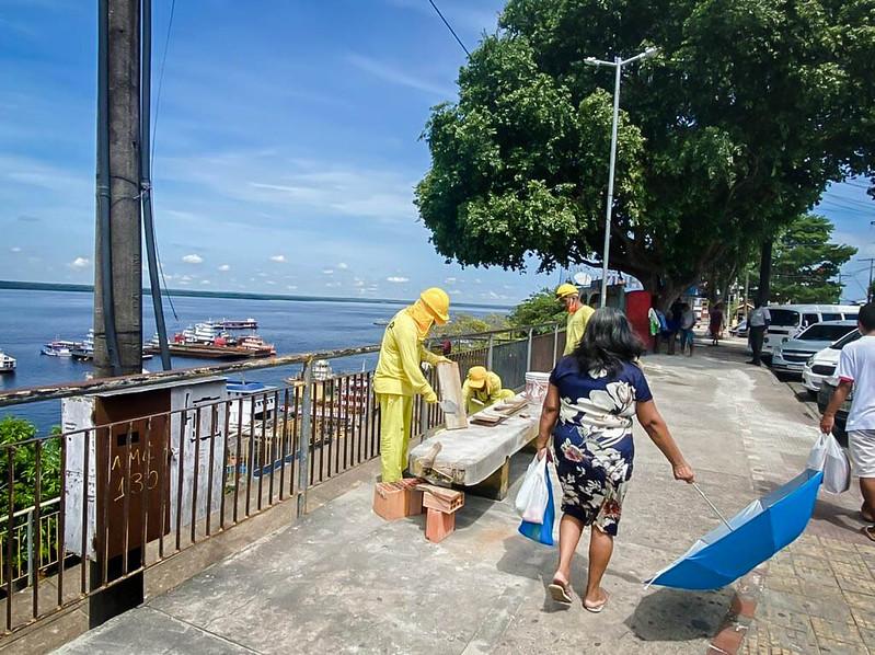 Prefeitura de Manaus Orla do Amarelinho SEMINF