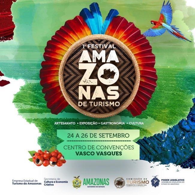 Amazonastur a 1º Festival Amazonas de Turismo