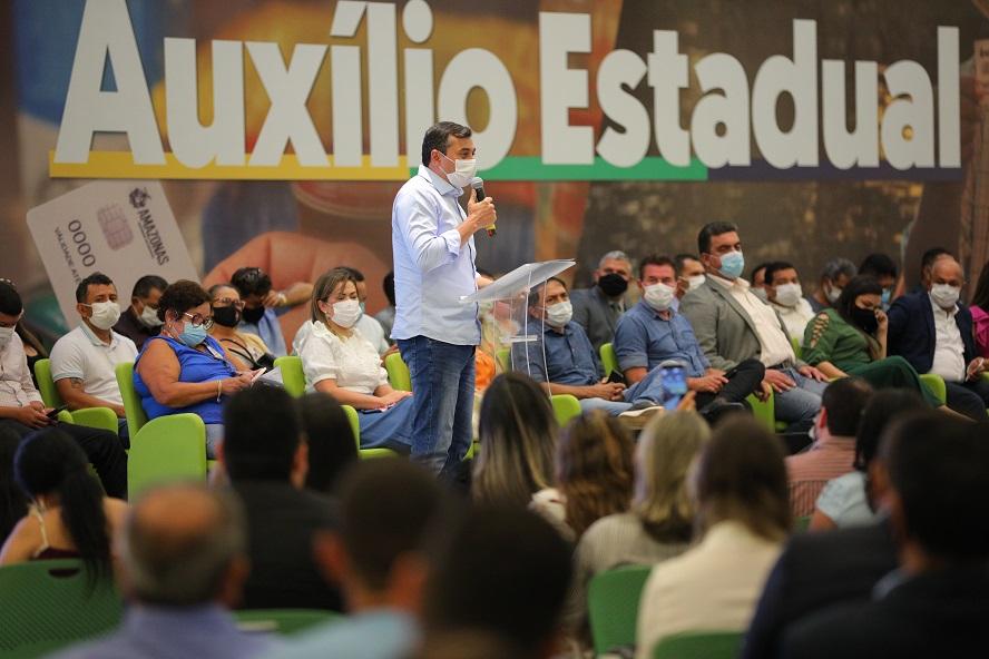 Wilson Lima Auxílio Estadual Governo do Amazonas