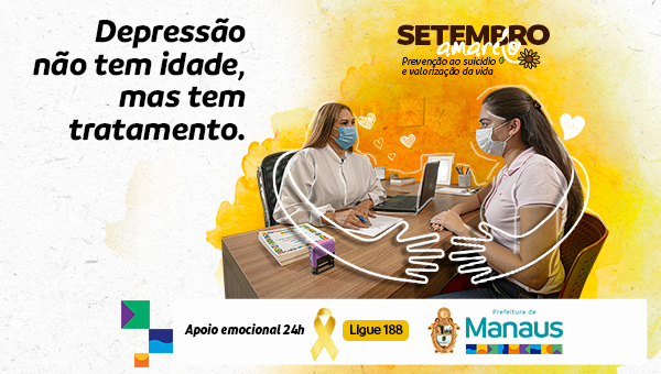 Setembro Amarelo Prefeitura de Manaus