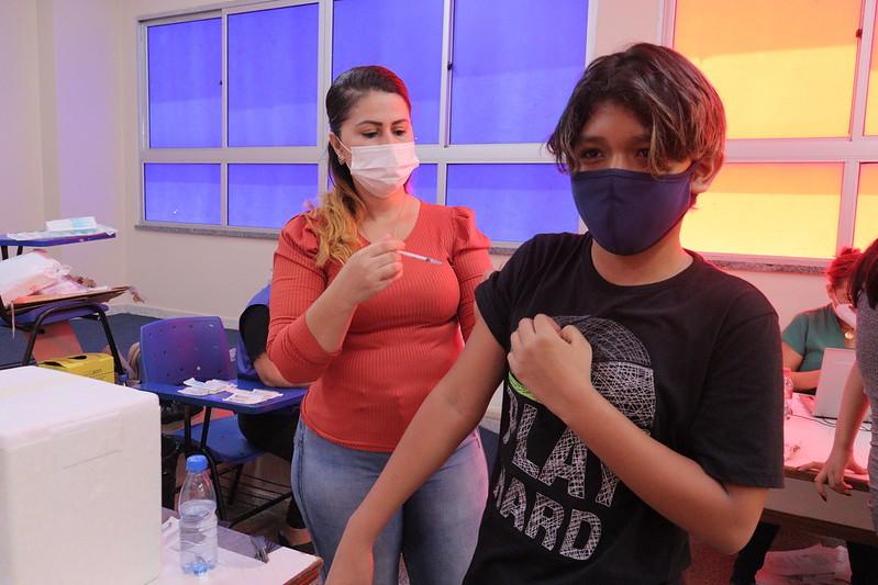 Vacinação Prefeitura de Manaus Covid-19 Adolescentes Ministério da Saúde