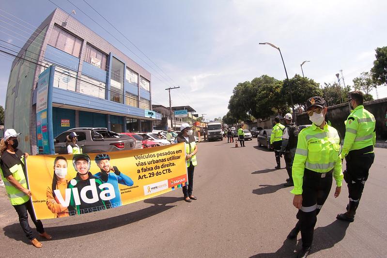 """IMMU Prefeitura de Manaus Operação """"Carga Pesada"""""""