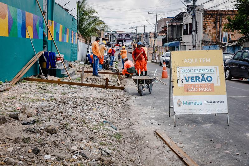 Prefeitura de Manaus Bairro Japiim SEMINF