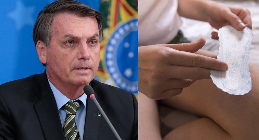 Governo Federal Jair Bolsonaro Absorventes